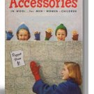 Accessories in Wool for Men, Women & Children, Coats & Clark Book No.290 PDF