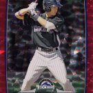 2012 Bowman Red Ice SP Will Swanner #10/25 COLORADO ROCKIES