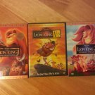 Lion King DVD Combo Pack - Lion King, Lion King 2, & Lion King 1 1/2 - 6 Discs!!