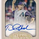 2012 Topps Gypsy Queen Auto Daniel Hudson DIAMONDBACKS
