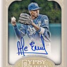 2012 Topps Gypsy Queen Auto Alcides Escobar ROYALS
