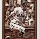 2012 Topps Gypsy Queen Sepia mini #66 73/99 Brandon Belt GIANTS!