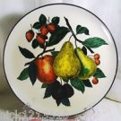 "VINTAGE SERVING TRAY FRUIT MOTIFF 13"" CIRCA 1960'S COOL"