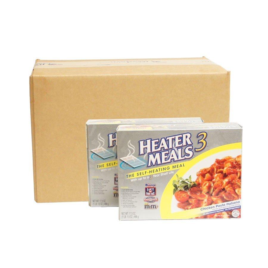 MRE style- Heater Meal 3 - Emergency Preparedness Survival Food Lot -1 case of 12