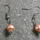 Fresh Water Pearl Sterling Silver Earrings