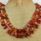 AGATE 2ROW NECKLACE