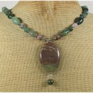 Handmade RHYOLITE & FANCY JASPER NECKLACE