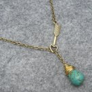 Handmade TURQUOISE & ARROW NECKLACE