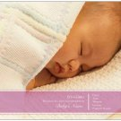 "SWEET SIMPLICITY | 20ct - 5.5""x4"" flat glossy photo BABY GIRL ANNOUNCEMENTS w matching envelopes"