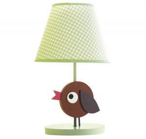 Tiny Tillia Kid's Room Bird Lamp - Avon