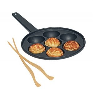Pancake Puff Pastry Pan with Tongs - Avon