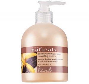 Vanilla: Naturals Antibacterial Liquid Hand Soap - Avon