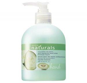 Cucumber Melon: Naturals Antibacterial Liquid Hand Soap - Avon