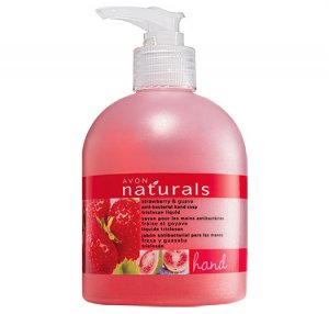 Strawberry & Guava: Naturals Antibacterial Liquid Hand Soap - Avon