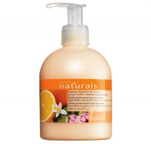 Orange Blossom & Verbena : Naturals Hand Lotion - Avon