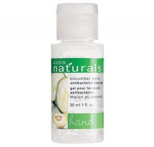 Cucumber Melon: Naturals Travel Antibacterial Hand Sanitizer - Avon