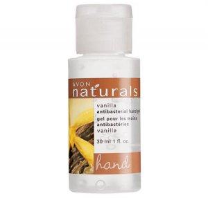 Vanilla: Naturals Travel Antibacterial Hand Sanitizer - Avon