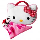 Hello Kitty Throw with Pillow Storage - Avon