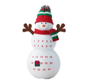 Charlie the Countdown Snowman - Avon