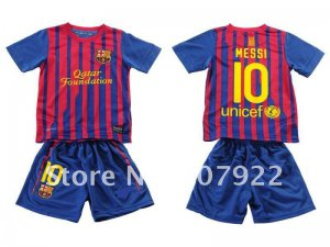 Barcelona child Soccer Uniforms