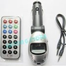 New CAR MP3 FM TRANSMITTER PLAYER MODULATOR USB SD MMC For IPOD