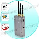 Silencer Portable Handheld Full Spectrum CDMA GSM 3G Mobile Cell phone Signal 120A