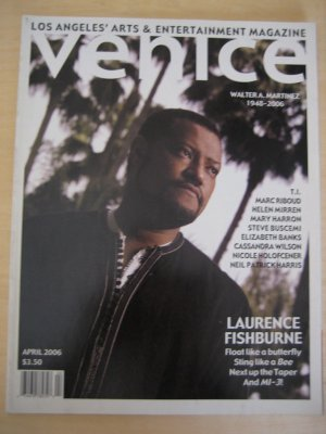 Venice Magazine LAURENCE FISHBURNE Helen Mirren 4 06