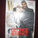 W MAG GEORGE CLOONEYRENEE ZELLWEGER DEC 07 SEALED