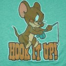 Vintage Tom & Jerry  T shirt Hook It Up Emo Retro Funny