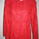 Vintage BILL BLASS COCTAIL DRESS 80's EVENING LACE MED