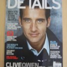 DETAILS Magazine CLIVE OWEN OCTOBER 09 low ship