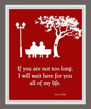 I will wait for you Print