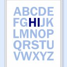 ABC&#39;s Alphabet Hi Print