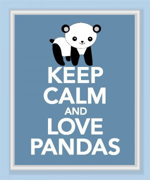 Keep calm and love pandas keep calm and love baby pandas