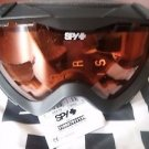 Spy Optic Zed Essntls gry +blk mr+pr Snow Goggles New Free Shipping