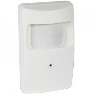 Motion Detector Hidden Camera - B&W Wireless with 2.4 GHz Transmitter