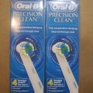 Oral B Precision Clean Replacement Electric Brush Heads - 8 Pack Oral-B