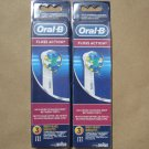 Oral B Floss Action Replacement Electric Brush Heads - 6 Pack Oral-B EB25-3