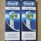 Oral B Pro White Replacement Electric Brush Heads - 6 Pack Oral-B