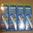 Oral B Dual Clean Replacement Electric Brush Heads - 12 Pack Oral-B