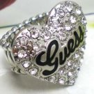 New Guess ring size 7