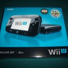 Wii U + 5 games - 32GB Black Deluxe Set Nintendo Wii U