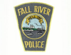 FALL RIVER POLICE DEPARTMENT MASSACHUSETTS POLICE UNIFORM PATCH UNITED STATES