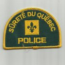 QUEBEC SURETE DU QUEBEC INTERNATIONAL UNIFORM PATCH CANADA