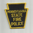 PENNSYLVANIA STATE FIRE POLICE PATCH BADGE UNITED STATES