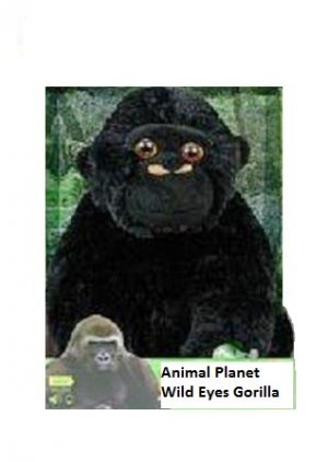 Animal Planet Wild Eyes Animated Plush Gorilla