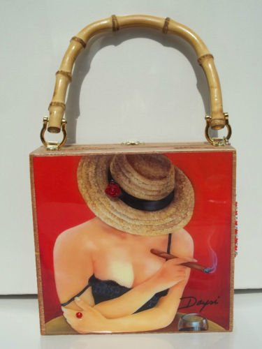 Buy cigars gifts christmas - Christmas Gifts!!!. Cigar Box Purse w/bamboo handle. Three Purse to C