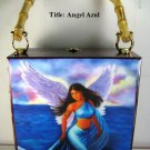 Christmas Gifts!!!. Cigar Box Purse w/bamboo handle. Cuban Art 100% Handmade.