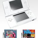 Nintendo DS Lite (Polar White) Bundle w/ 11 Games