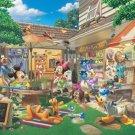 D-1000-382 Disney Goofy's Nature Shop (Japan Tenyo Disney Jigsaw Puzzle)
